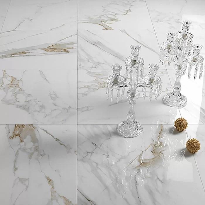 calacatta oro marble effect porcelain