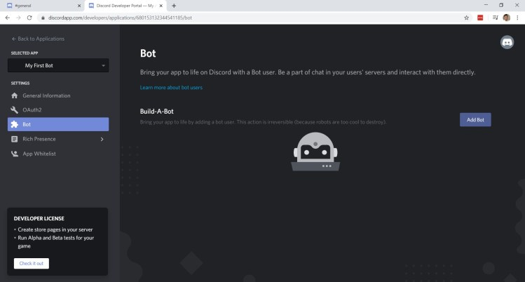 Discord Bot Home