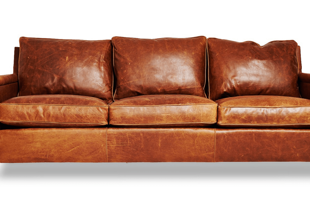 Brentwood Leather Sofa Abbyson Living Ci 2 Camelot Top