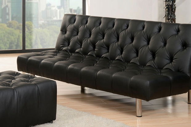 Abbyson Living Sofa Black