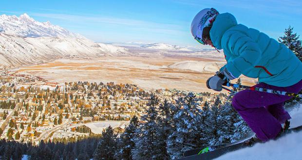 Ski Snow King Jackson Hole