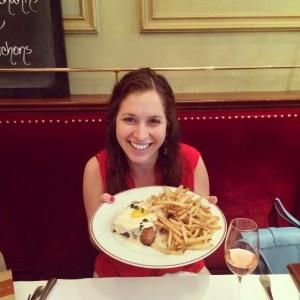 Jenna Bostock at Bouchon