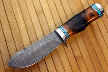 Damascus Bullnose Skinner A&P