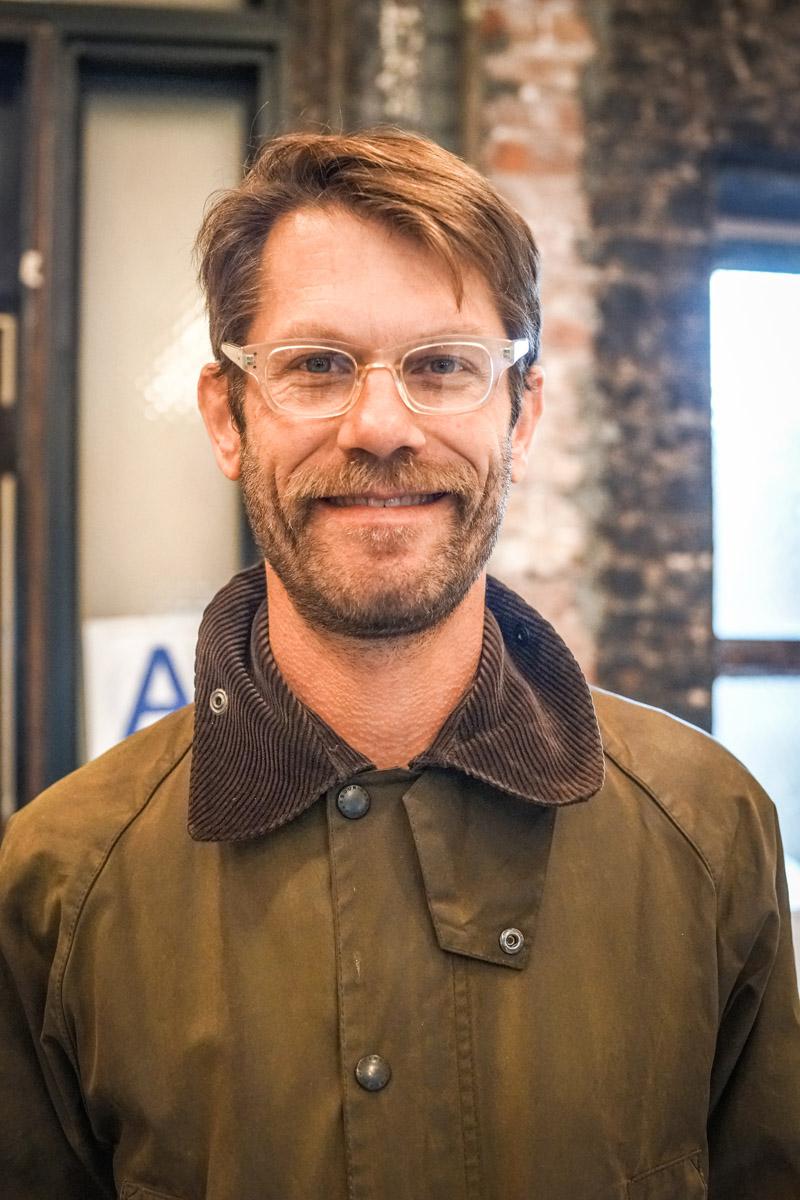 Steve owner of Persons of Interest Barbershop in Brooklyn