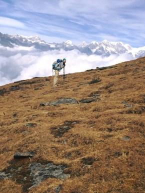 Kiara on Mt. Pikey in Nepal