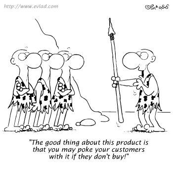 NEGATIVE ETHICAL PERCEPTIONS TROUBLES SALES & MARKETING