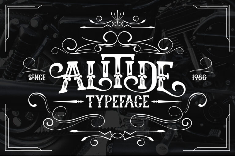 Preview image of ALITIDE Typeface