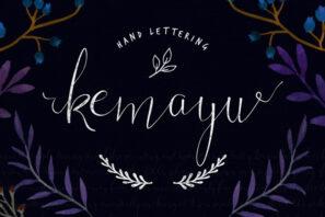 Kemayu Hand Lettering + Vector Bonus