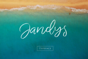 Jandys Typeface (Extended license)