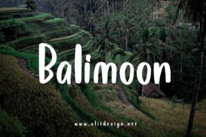 Bali Moon font