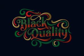Black Quality Fonts