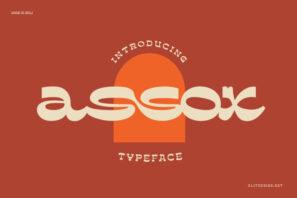 assox typeface