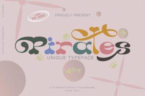 Pirates Typeface
