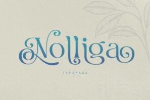 Nolliga Typeface