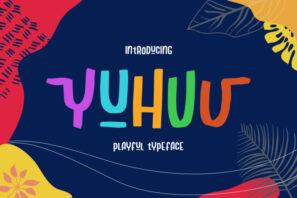 Yuhuu Typeface