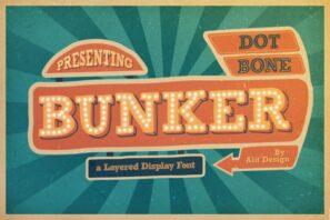 Bunker Typeface