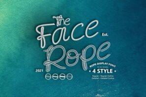 Face Rope Typeface