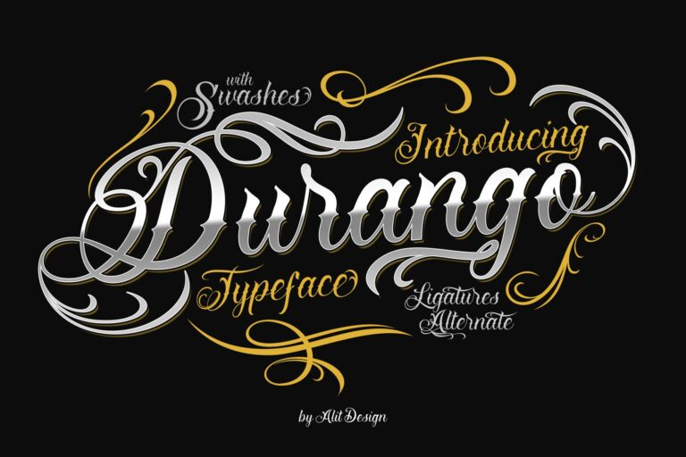 Preview image of Durango Typeface