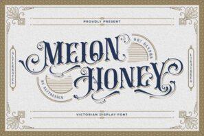Melon Honey Typeface