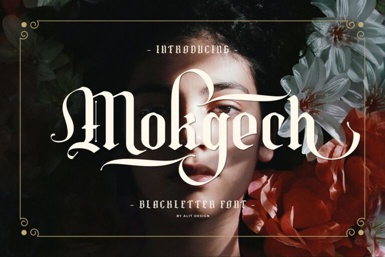 Preview image of Mokgech Typeface