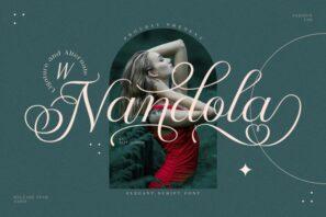 Nandola Typeface
