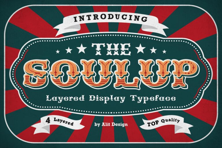 Preview image of Soulup Typeface