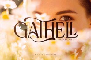Gathell Typeface