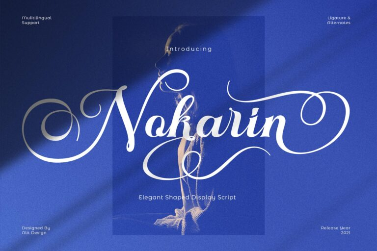 Preview image of Nokarin Font