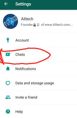 whatsApp chat restore