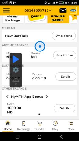Mtn free 500MB