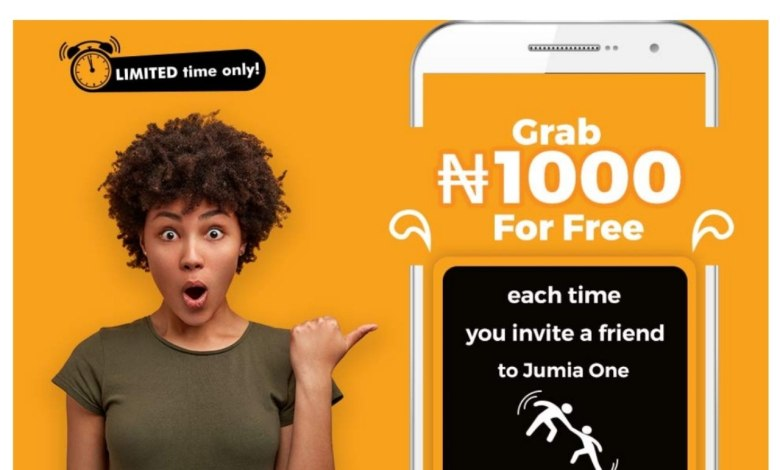 Photo of GRAB #1000 NAIRA WITH JUMIA REFERRAL [LIMITED OFFER]