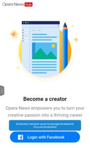 Opera News hud
