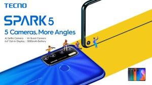 Tecno Spark 5 Camera