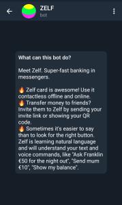 Zelf telegram bot