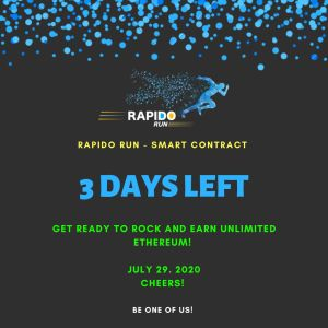 Which Data Rapido Run Smart Contract Will Be Launch