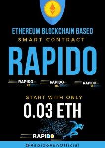 Rapido Run Registration Fee