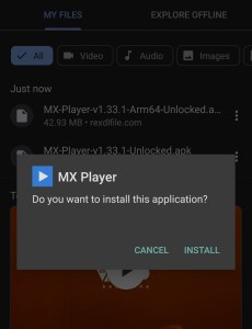 Download Mx Player Pro 1.33.2 Mod Apk