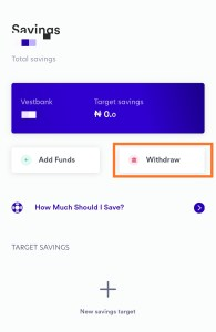 Vestpay withdraw process