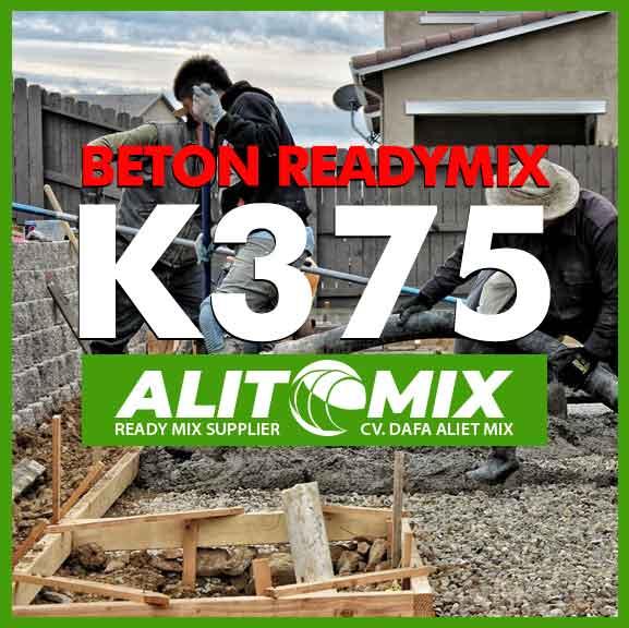 Mutu Beton K375