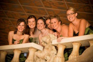 My bestie's wedding right before I left on my RTW Trip