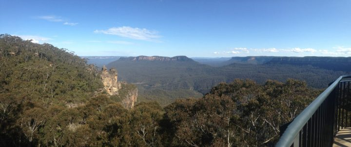 hiking the blue mountains australia