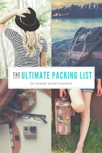 The Ultimate Packing List for World Travelers