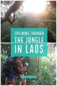 Ziplining Through the Jungle in Laos