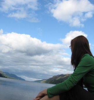 Loch Ness from Fort Augustus, Scotland
