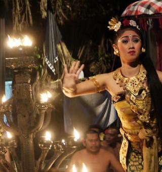 balinese cultural dancer