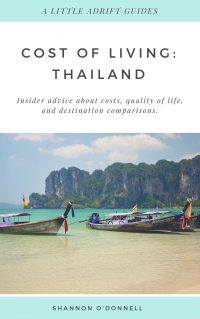 Cost of Living PDF: Thailand