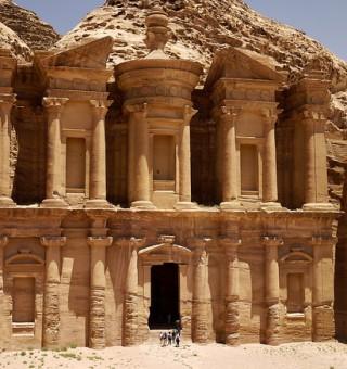 ad dayr monastery petra jordan
