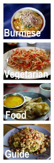Vegetarian Burmese Food Myanmar