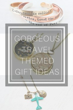 Travel Themed Jewelry and Gift Ideas!