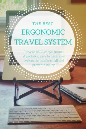Ergonomic Travel System for Digital Nomads